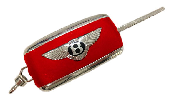 Bentley Key Customisation