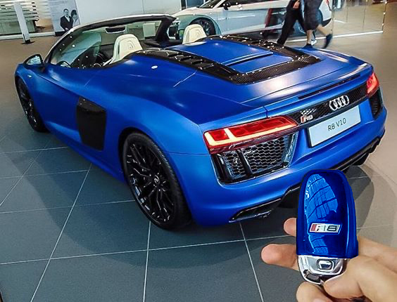 Audi Key Customisation