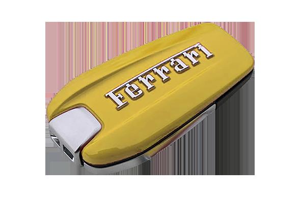 Giallo Modena Yellow Custom Ferrari Key