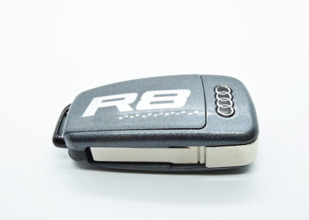 Audi r8 daytona grey Key with cf