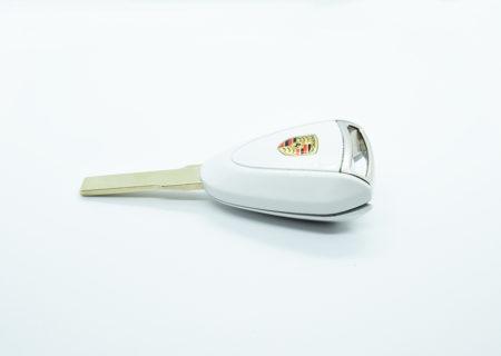 Carrara White Porsche Key