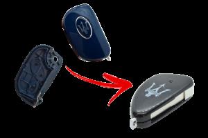 Maserati Blue Key to Upgrade