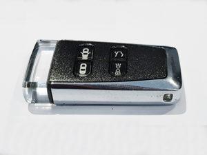 Ceramic Grey Aston Martin Glass ECU Key