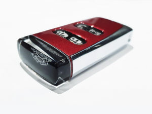 Diavolo Red Aston Martin Glass ECU Key
