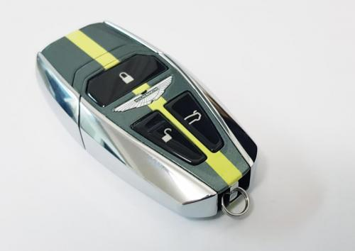 'Halo' Stirling Green and Lime Essence Aston Martin Next Gen Key