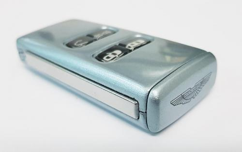 Skyfall Silver Aston Martin Valet Key