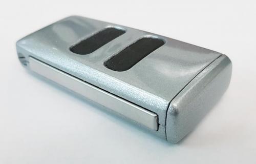 Titanium Silver Aston Martin Valet Key
