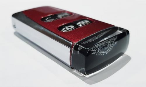 Diavolo Red Aston Martin Glass Key