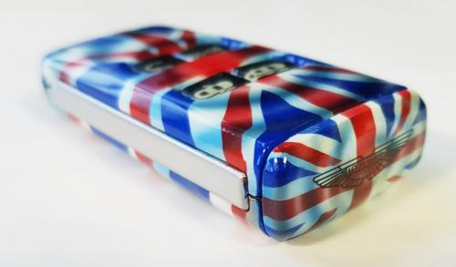 Union Flag Aston Martin Valet Key