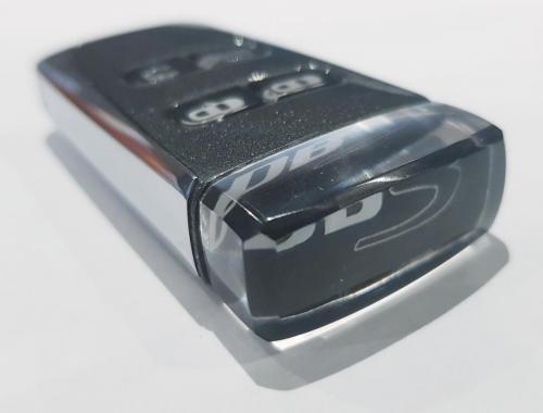 Quantum Silver Aston Martin DBS Glass Key